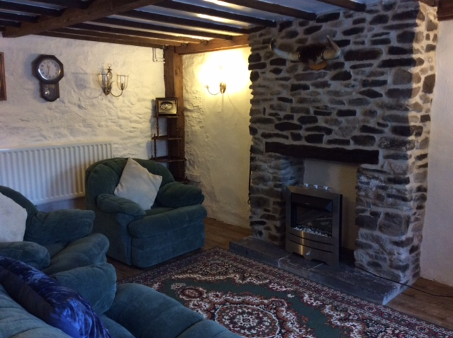 Cottage has gas central heating throughout with a bonus feature of a  real flame effect electric heater in the lounge to relax in front of for those colder seasons.